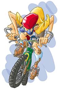 Vélo parrainé